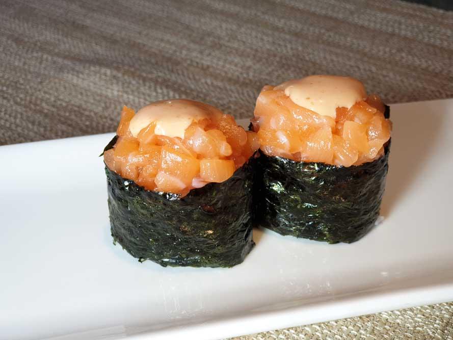 G4 Gunkan spicy sake