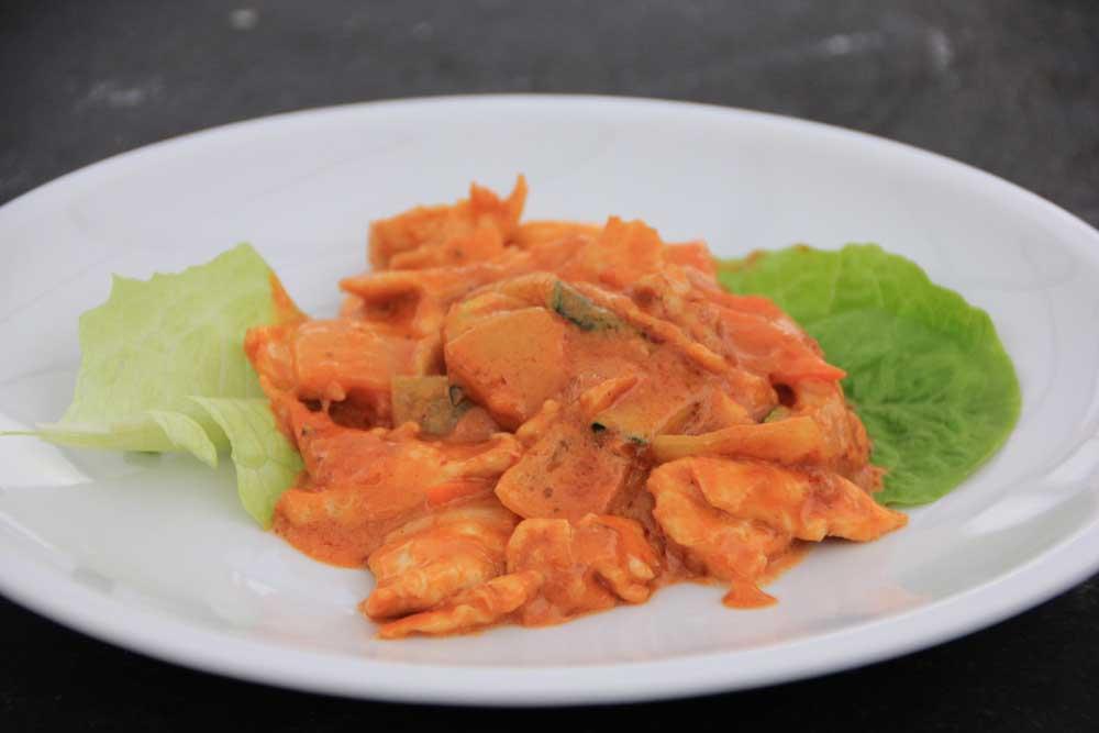PS4 Pollo al curry thai*