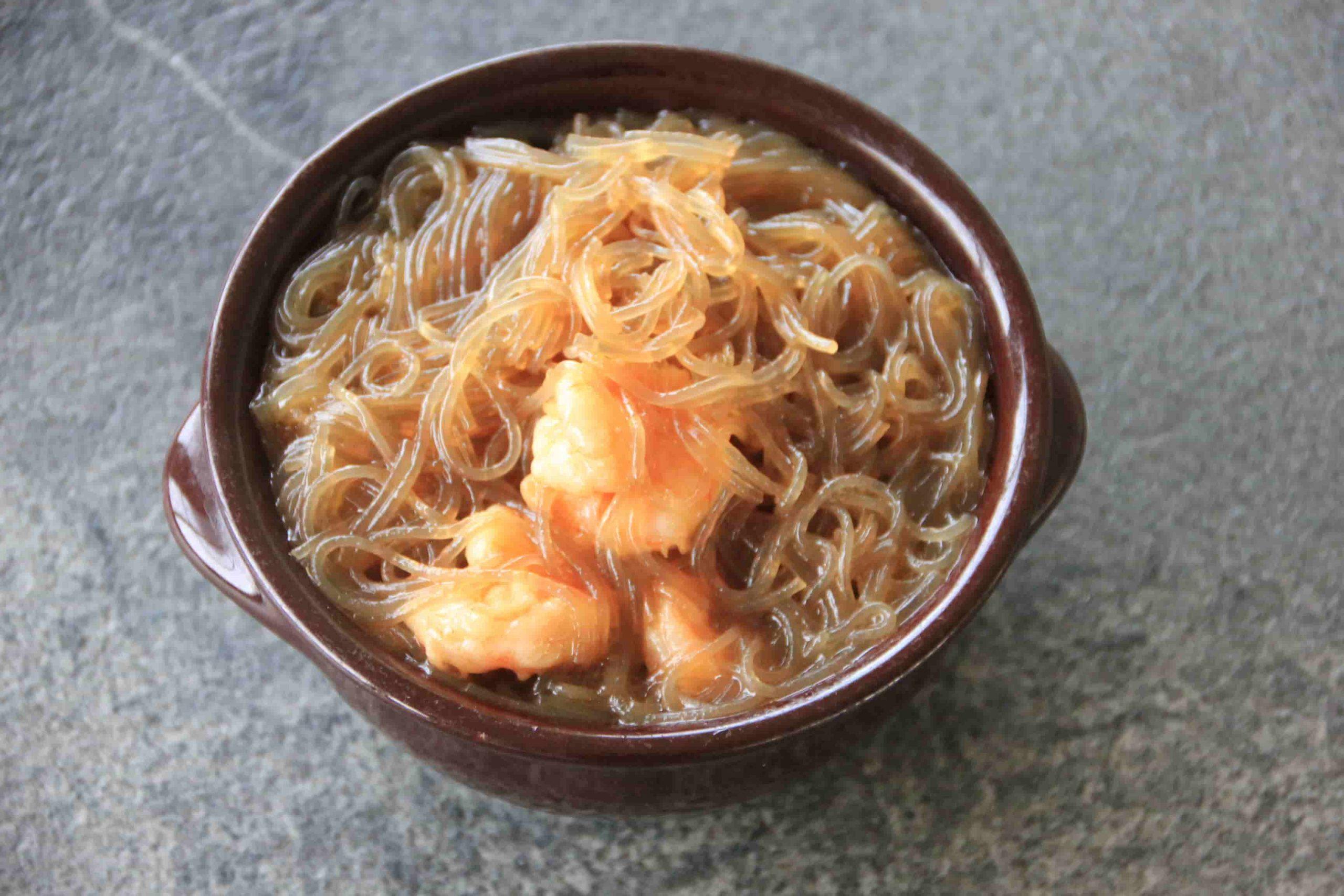 S7 Spaghetti di soia in terracotta*