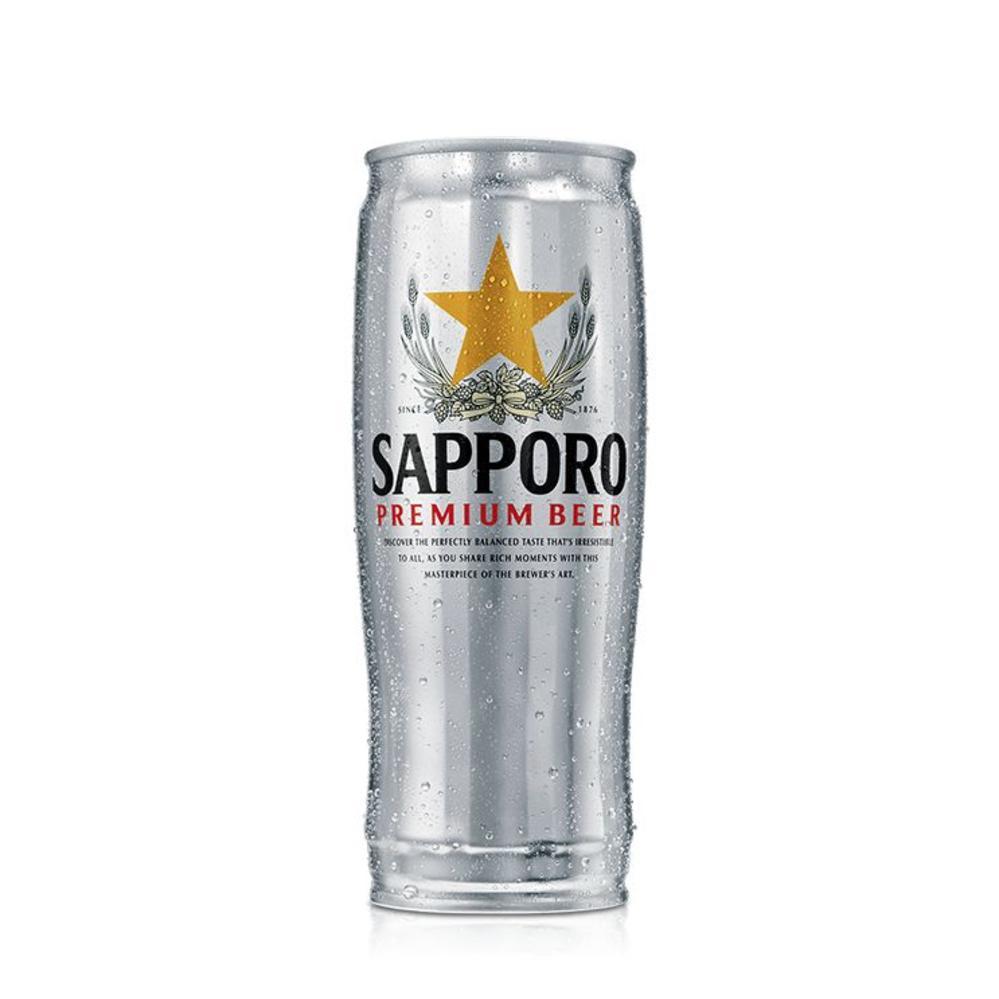 Sapporo silver can 65cl