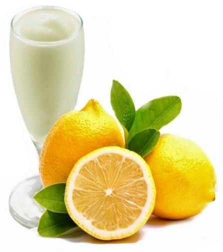 Crema di sorbetto al limone