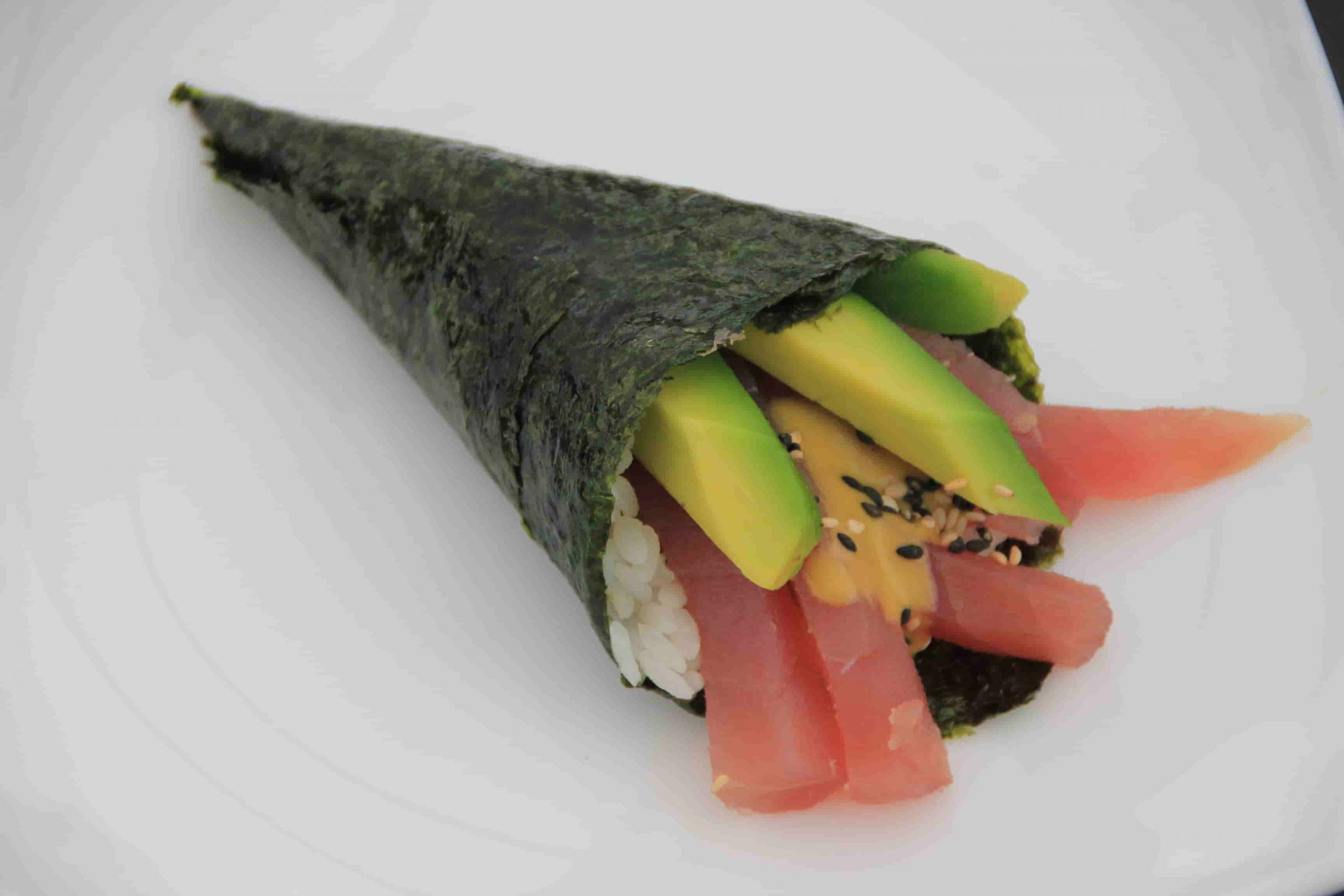 T3 Temaki tonno e avocado