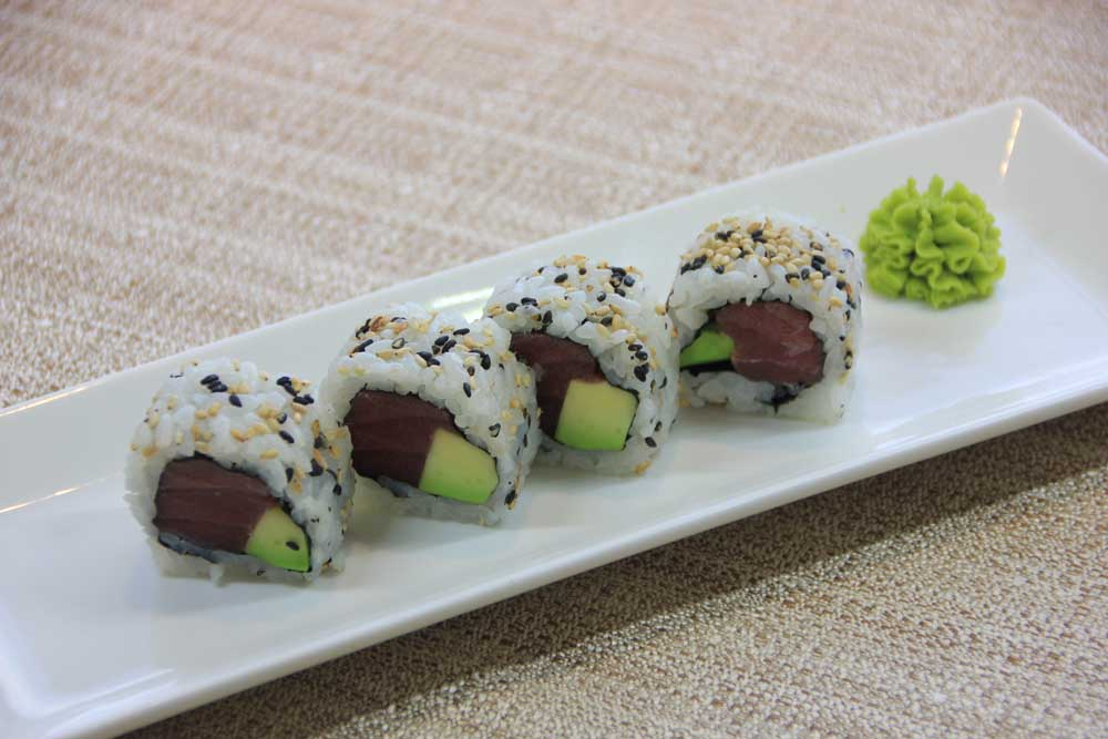 U5 Uramaki tonno e avocado