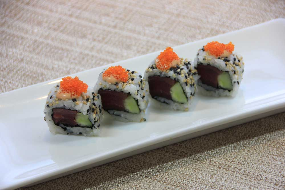 U8 Uramaki spicy tuna