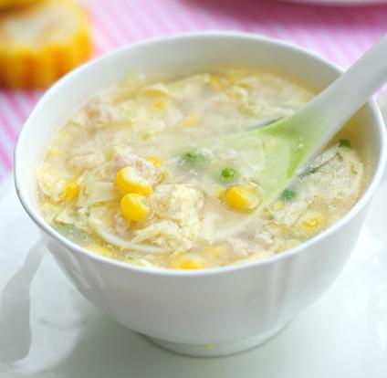 Z4 Zuppa di mais e pollo*