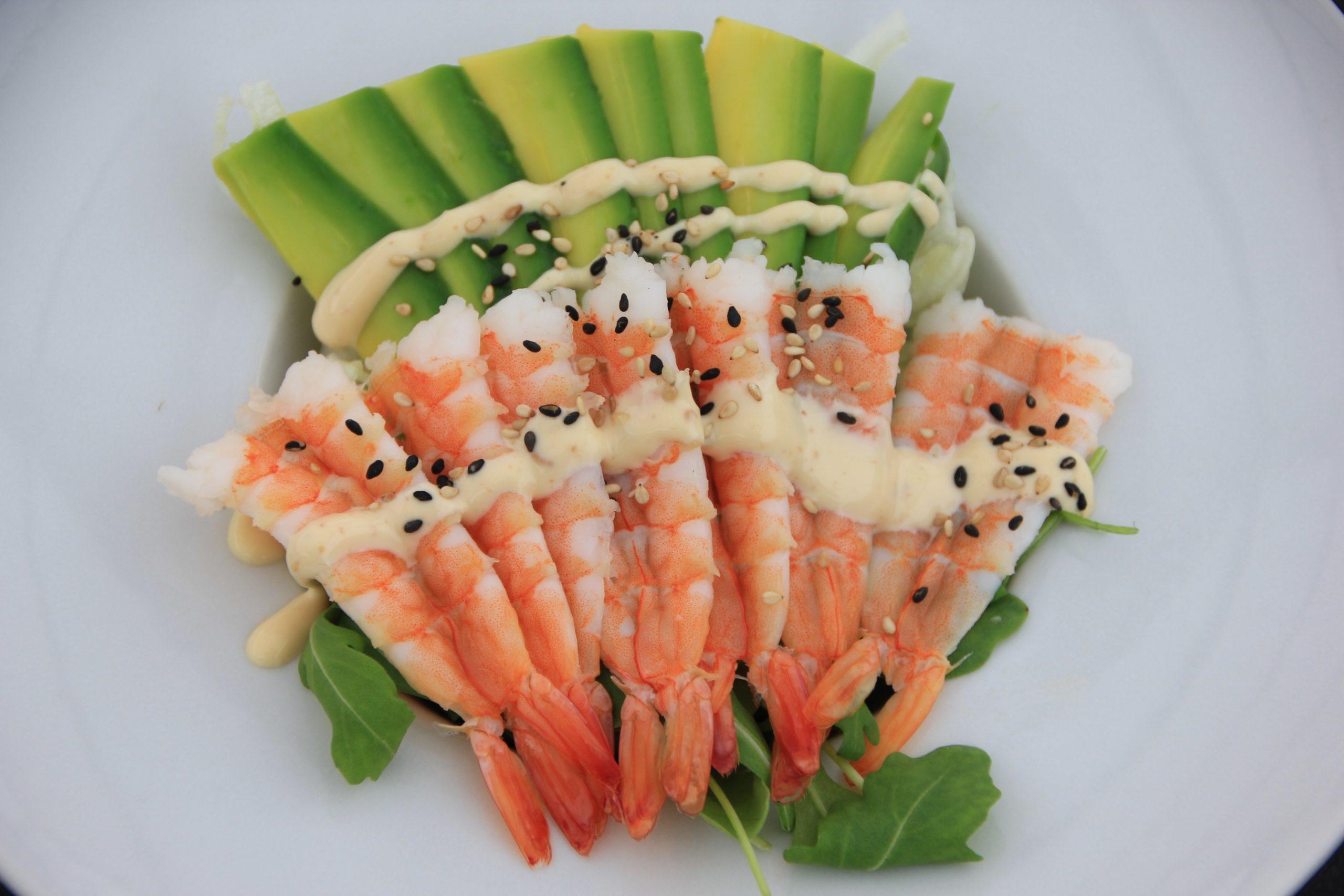 A4 Ebi salad*