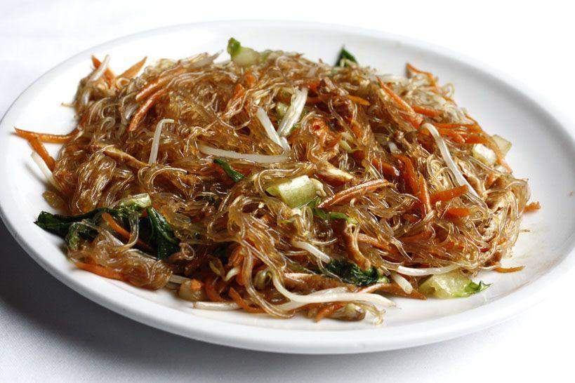 S5 Spaghetti di soia con verdure